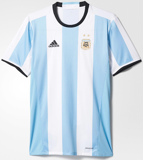 3903384a2 Argentina 2016 Copa America Kit Released - Footy Headlines
