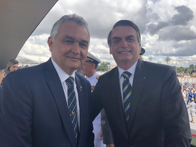 Deputado federal General Girão anuncia vinda de Bolsonaro ao RN