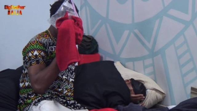 #BBNaija: Ike suffers mild cut while playing with Jackye
