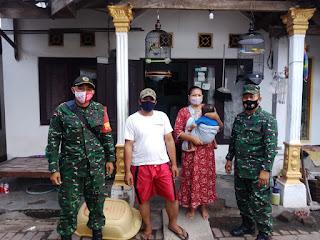 Komandan Koramil 0820/01 Kanigaran Pererat Silaturahmi Dengan  ke Warga