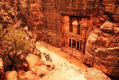 Ruinas de Petra – Jordânia