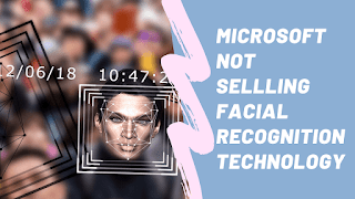 microsoft face recognition to the police deprtment