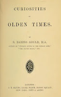 Curiosities of Olden Times by Sabine Baring-Gould. Title page.