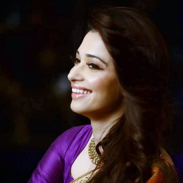 Beautiful Tamanna Bhatia In Saree Photoshoot Stills