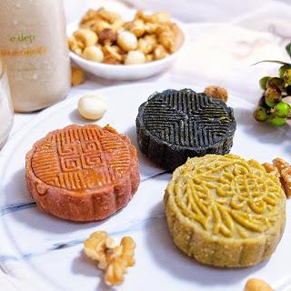 Cách làm bánh trung thu healthy 126kcal 1
