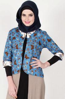 Contoh Baju Batik Kerja
