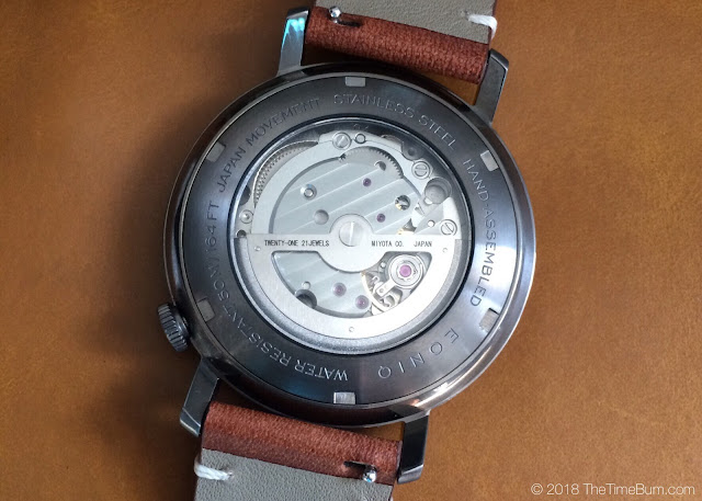 Eoniq Alster custom automatic movement