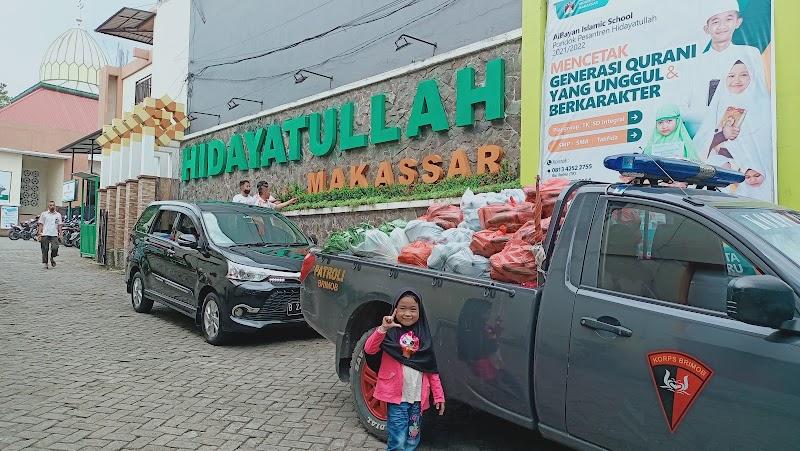 3 Ton Sayur Untuk Paket Dapur Ramadhan Oleh BMH SulSel, Rumah Koran dan Satbrimob Polda Sulsel
