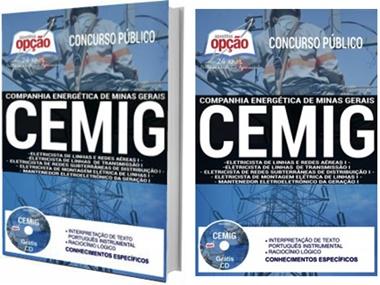 Apostila Concurso CEMIG MG 2017