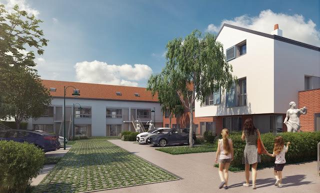 Perspectives 3D - commercialisation des logements