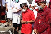 Gubernur Koster Ground Breaking Pembangunan Taman Alun - Alun Kota Bangli