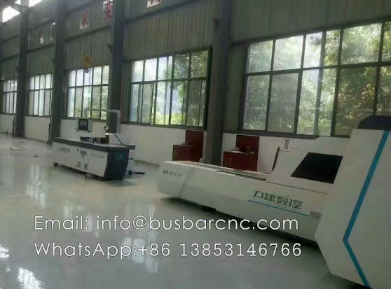 MX602K-8C - CNC Busbar Punching Machine