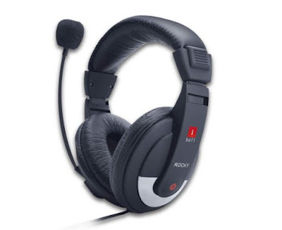 iBall Rocky Over-Ear Headphones