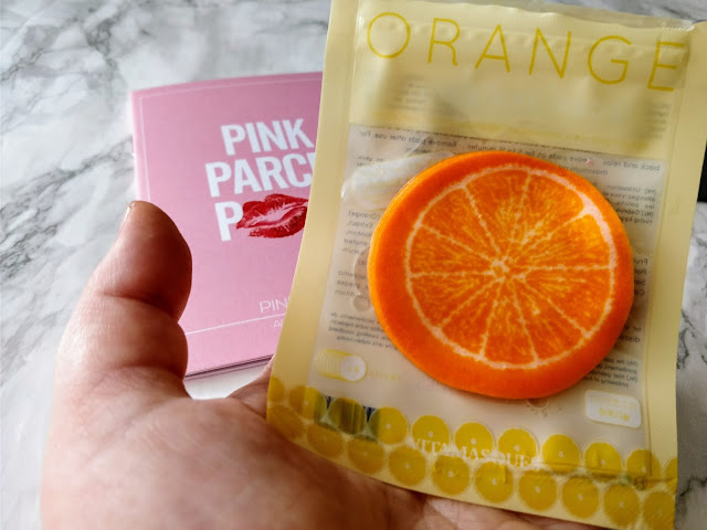 Vitamasque Orange Fruit Slice Masks