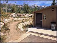 Parking Lot and Trail Head for 3 Falls Trail Alpine Utah