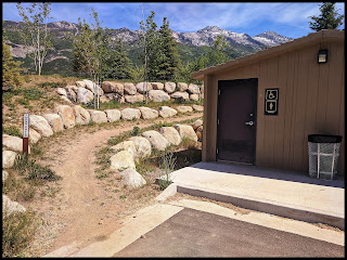 Parking Lot and Trail Head for 3 Falls Trail Alpine Utah