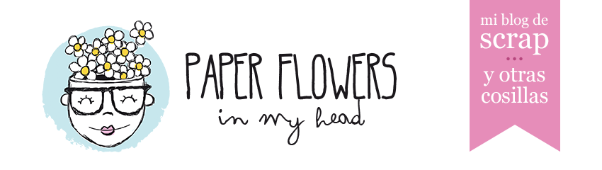 Paper flowers in my head