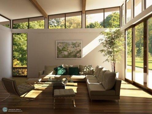 استخدام الإضاءة الطبيعية في التصميم الداخلي