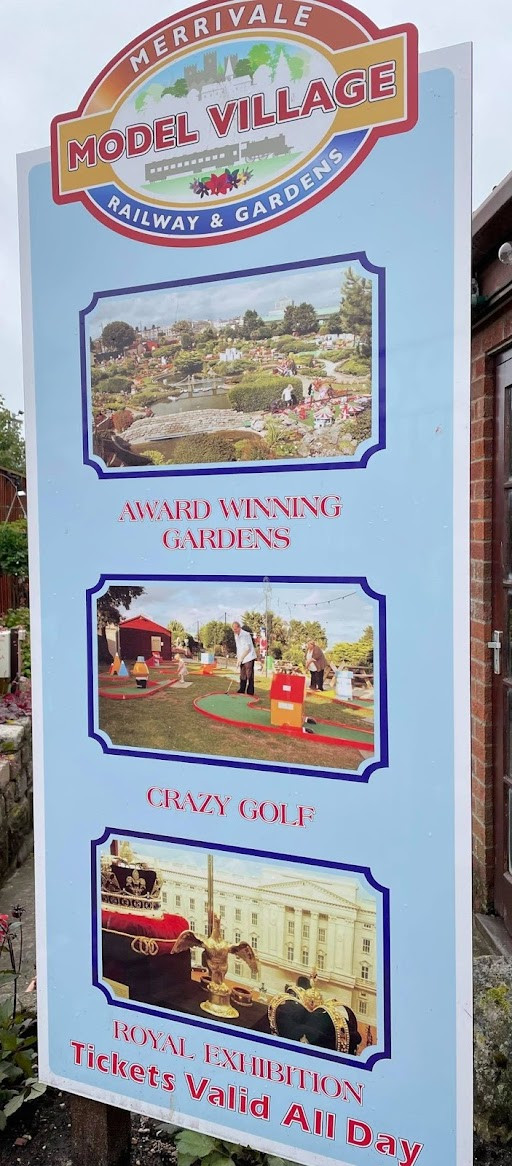Crazy Golf at Merrivale Model Village in Great Yarmouth. Photo by Christopher Gottfried, June 2021