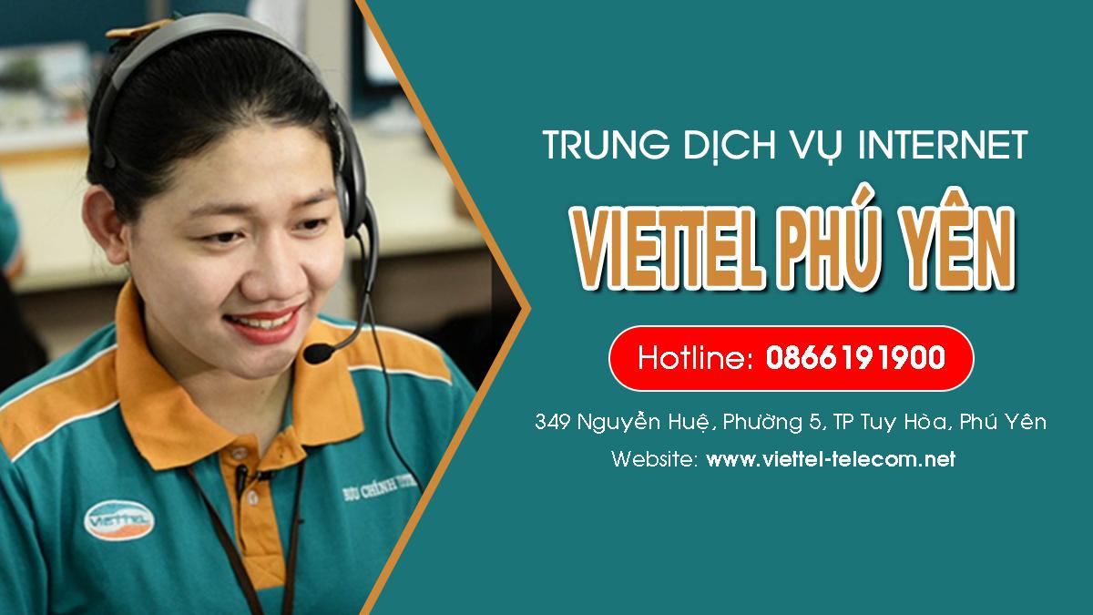 Viettel Phú Yên - Trung tâm lắp mạng Internet và Truyền hình ViettelTV