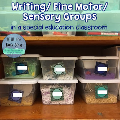 Writing & Fine Motor in Special Education