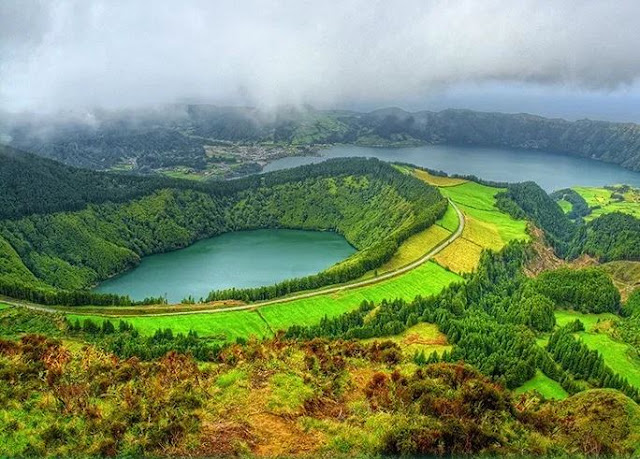 اين تقع جزر الأزور البرتغالية