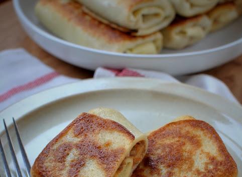 Krokiety z pieczarkami, czerwoną soczewicą i serem