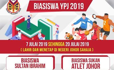 Permohonan Biasiswa Sultan Ibrahim 2019 Online