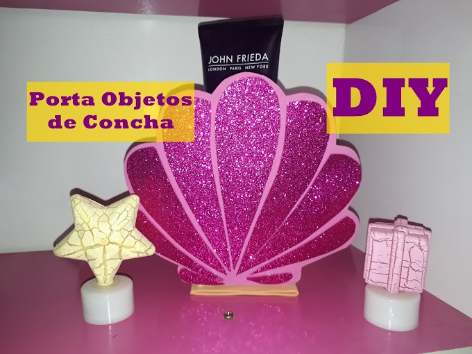 Porta objetos de concha - DIY