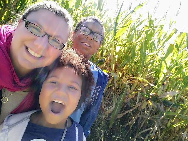Selfie in Patterson's Farm Corn Maze