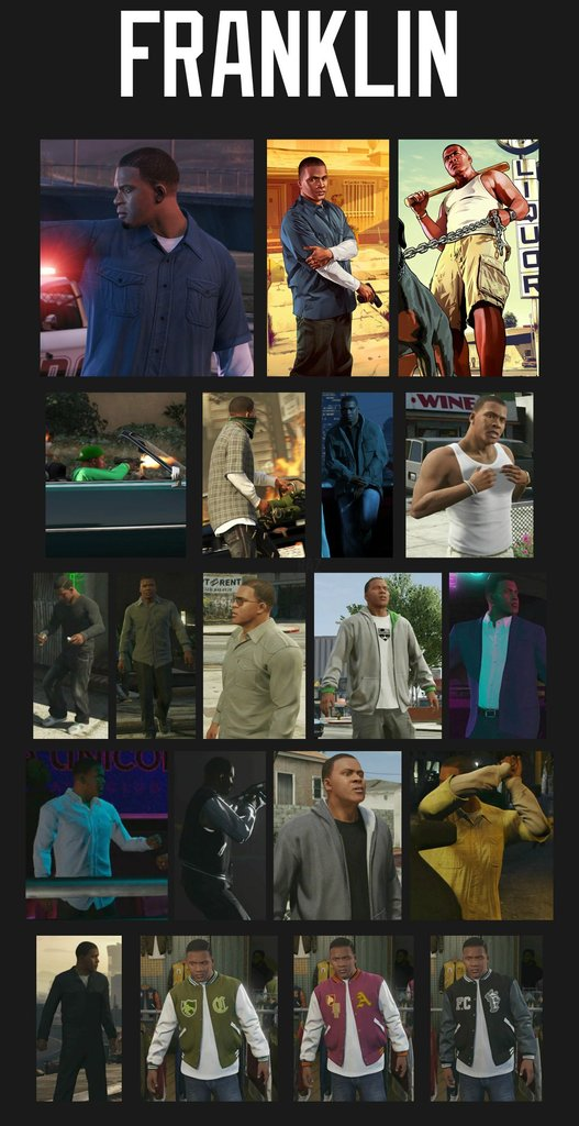 GTA V Character Customization Franklin