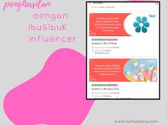 Tambah Penghasilan dengan IbuSibuk Influencer