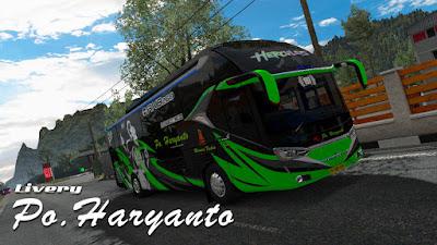 Skin Po Haryanto Mod Laksana SR2 Pack Beta ETS2 1.36-1.38