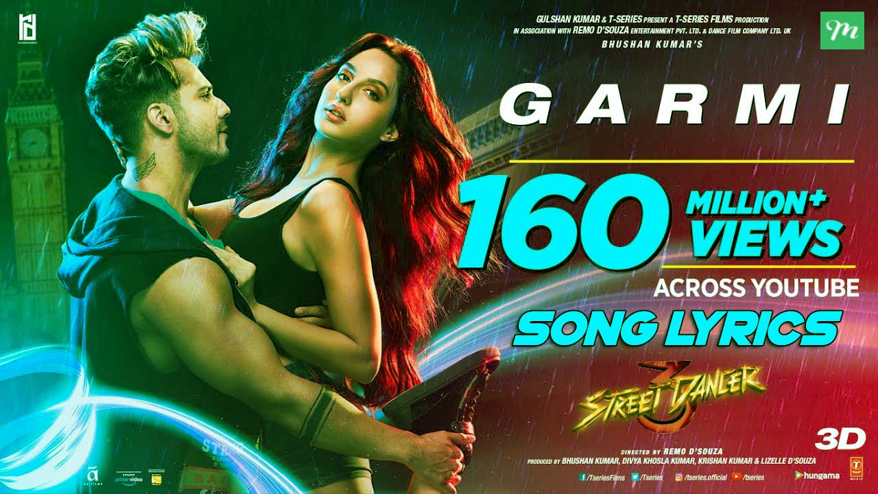 Garmi Song Lyrics in Hindi
