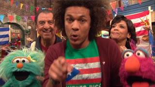 Armando, Mando, Telly, Rosita, Luis and Maria, Sesame Street Episode 4404 Latino Festival season 44