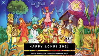 Happy Lohri in India 2021