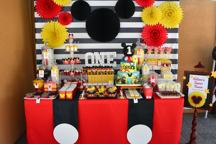 Rachel J Special Events It S A Mickey 1st Birthday Party