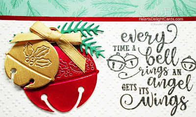 Heart's Delight Cards, Cherish the Season, Sounds of the Season, 2020 Aug-Dec Mini, Stampin' Up!, 12 Days of Christmas in July