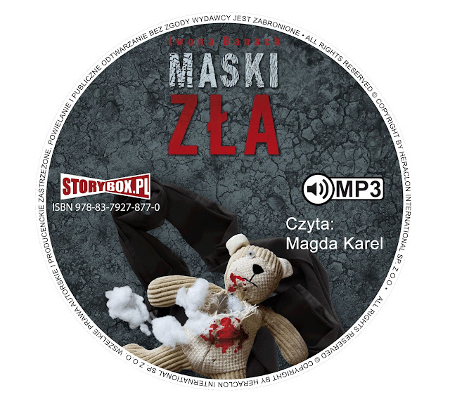 """Maski zła"" Iwona Banach [AUDIOBOOK + PATRONAT]"