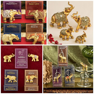 HotRef Blog: Good Luck Decorative Gold Elephant Wedding Favors