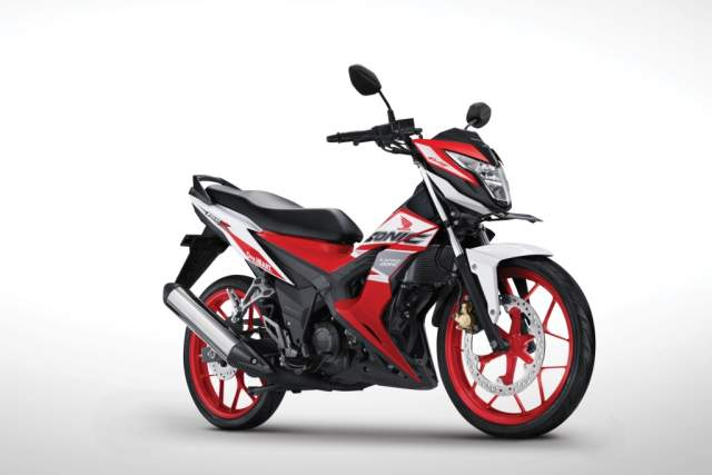 Warna New Honda Sonic 150R Honda Racing Red