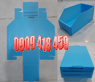Thùng nhựa pp danpla có thanh nẹp, thùng nhựa carton có thanh nẹp