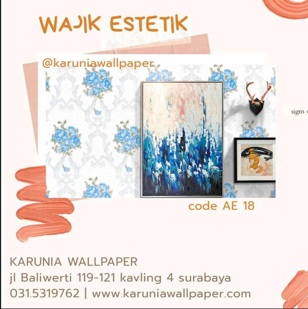 jual wallpaper dinding estetik klasik