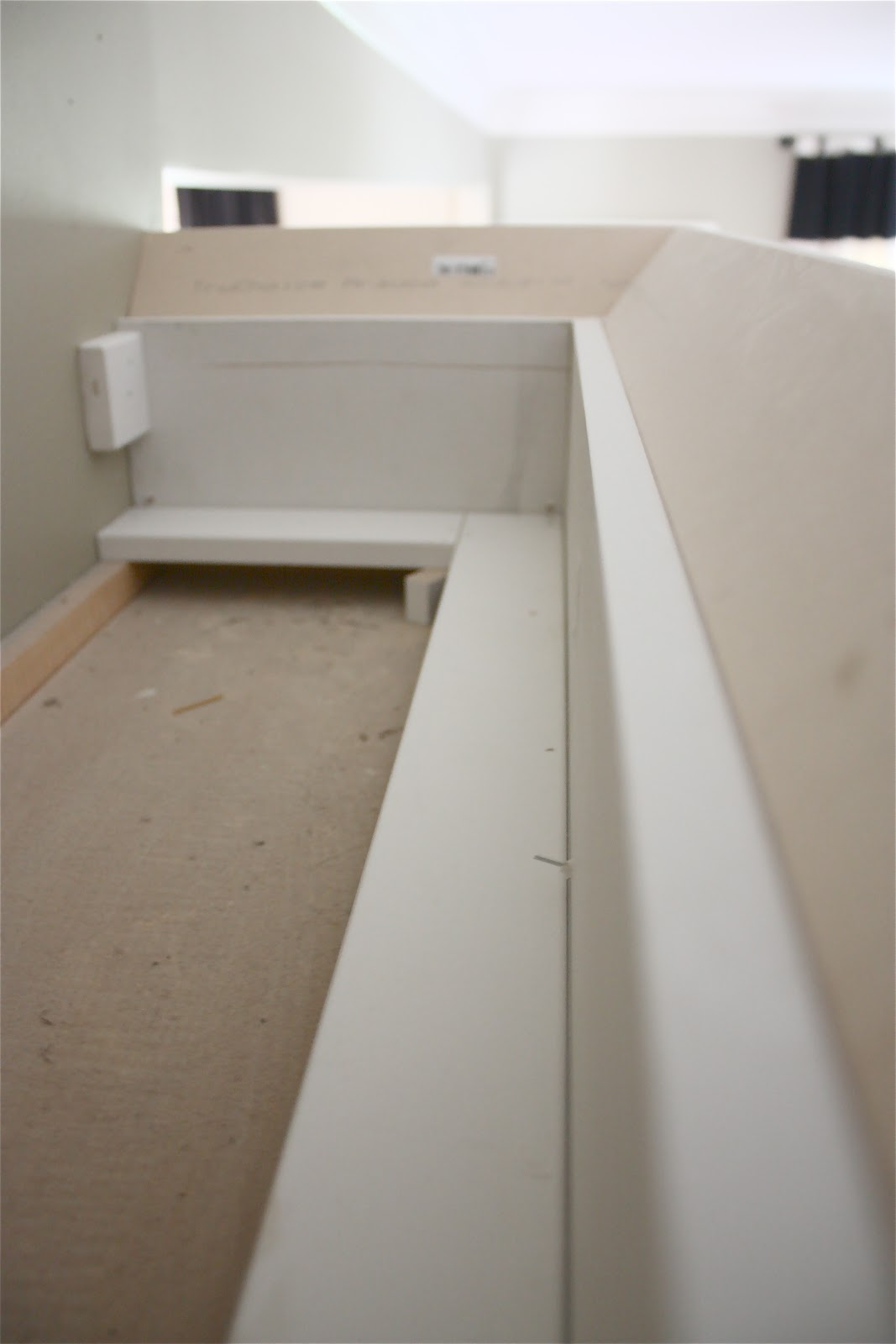 Types Of Crown Molding For Kitchen Cabinets The Yellow Cape Cod Making Cabinets Taller Builder