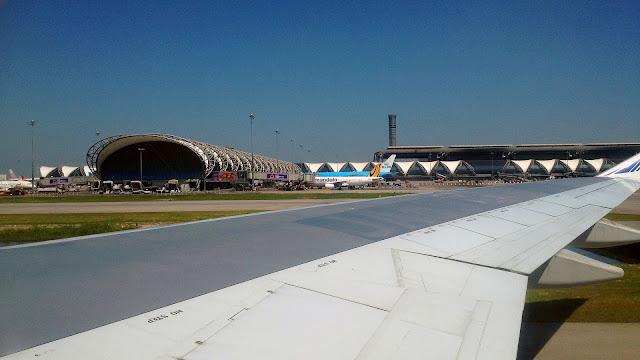Изображение сооружений аэропорта в Бангкоке, Тайланд