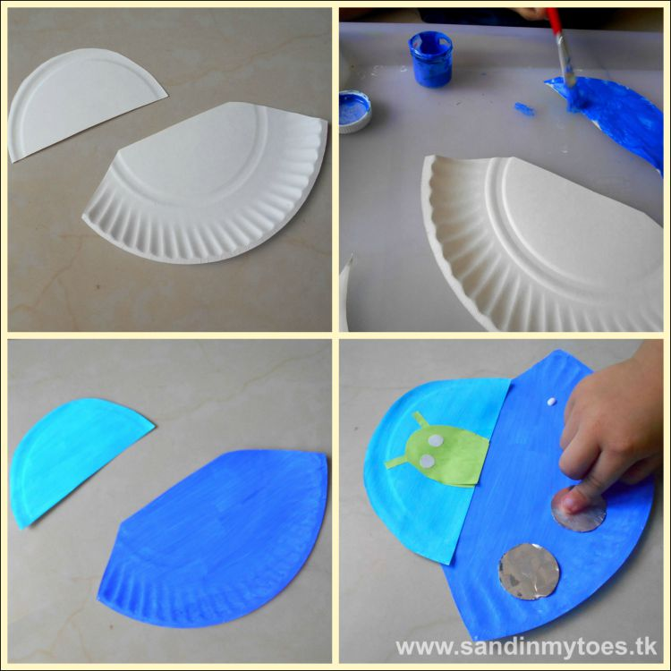 Paper Plate Crafts For Bible Stories