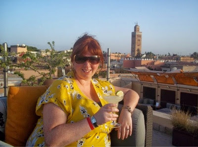 Rooftop gourmet dining in Marrakech