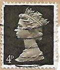 Selo Rainha Elizabeth II, 4D