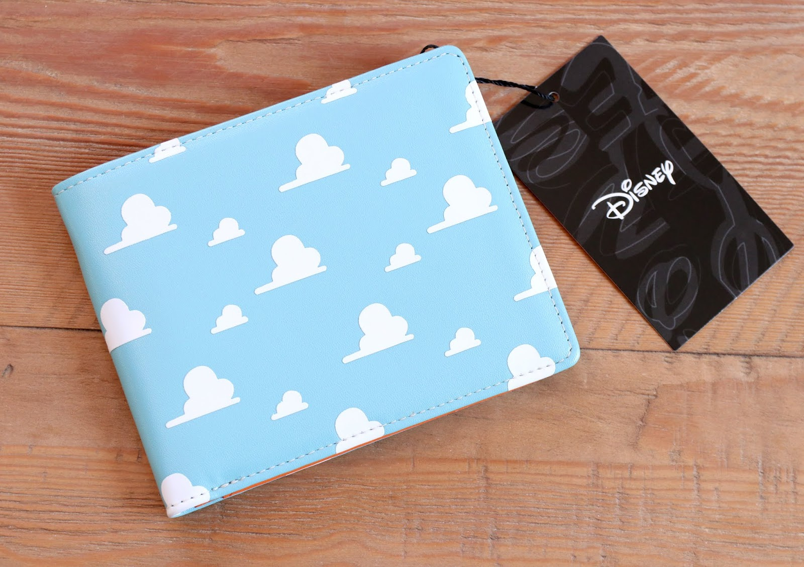 pixar toy story clouds wallet