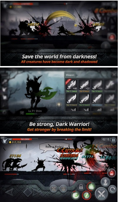 Dark Sword Mod Apk v2.1.0 (Unlimited Gold/Souls/Stamina/Keys)
